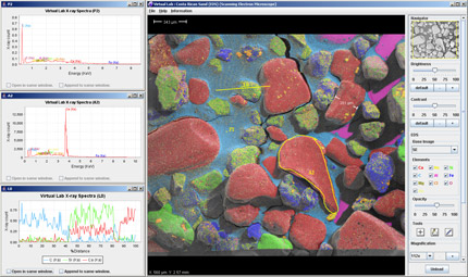 Virtual Microscope Screenshot